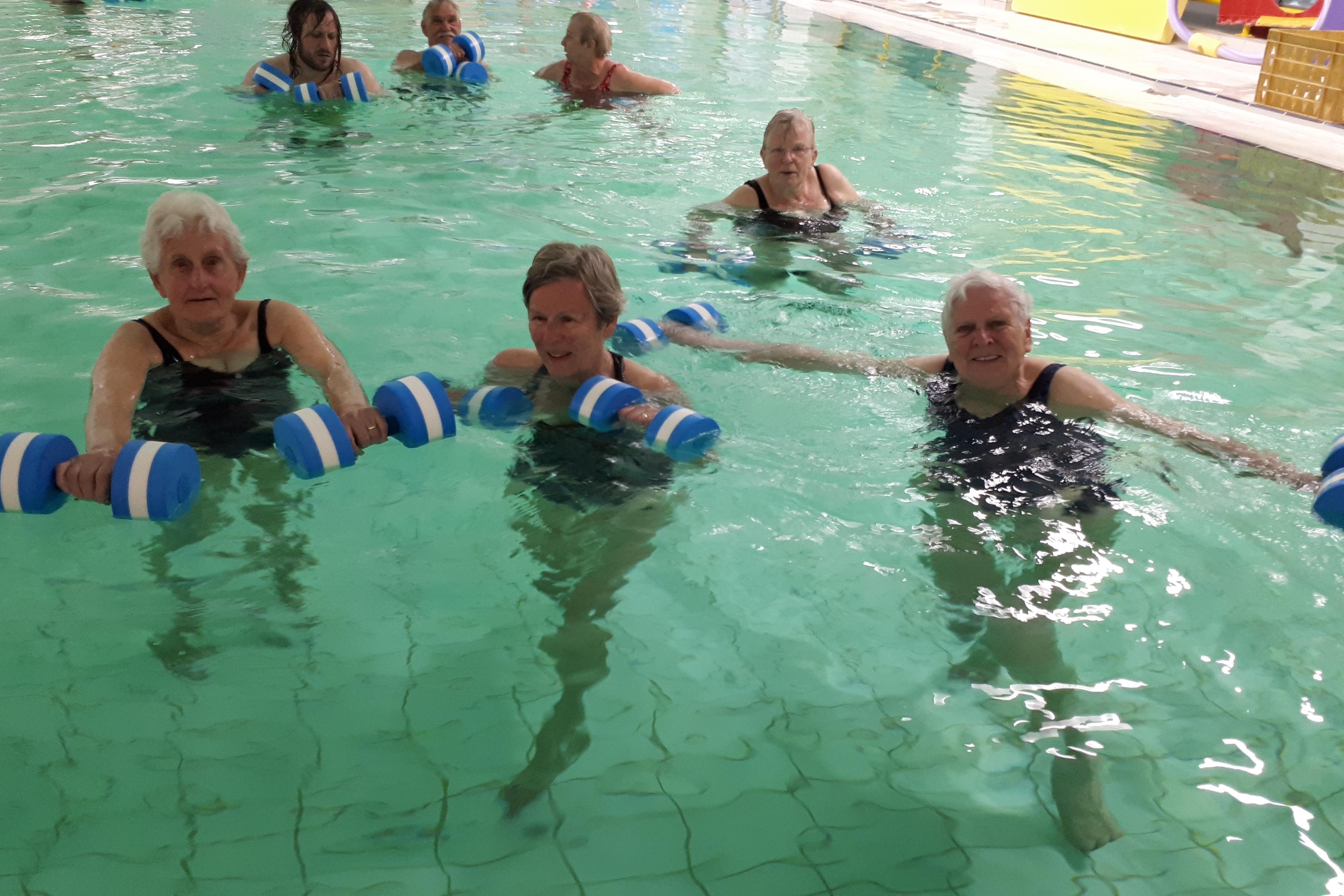 Ongekend Meer bewegen voor ouderen - Sport en Cultuur Woensdrecht LI-92